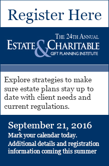 24th Annual Estate and Charitable Gift Planning